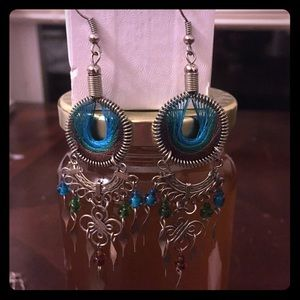 Montana handmade Dream Catcher Earrings